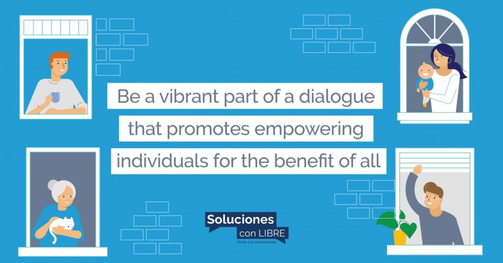 Be a part of Soluciones Con LIBRE