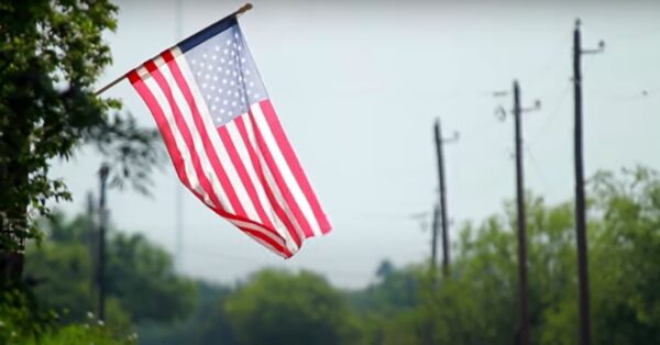 American flag, symbol of the American experience and the dream LIBRE wants everyone to share