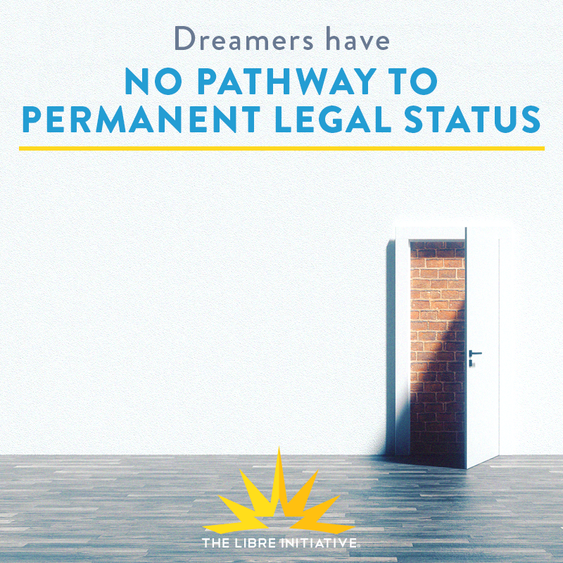 Dreamers have not pathway to permanent status.