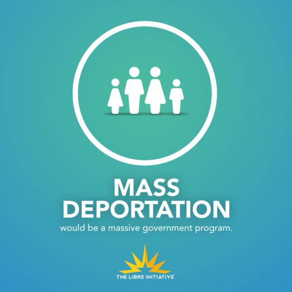 """Mass Deportation is not a """"Small Government"""" Program"""