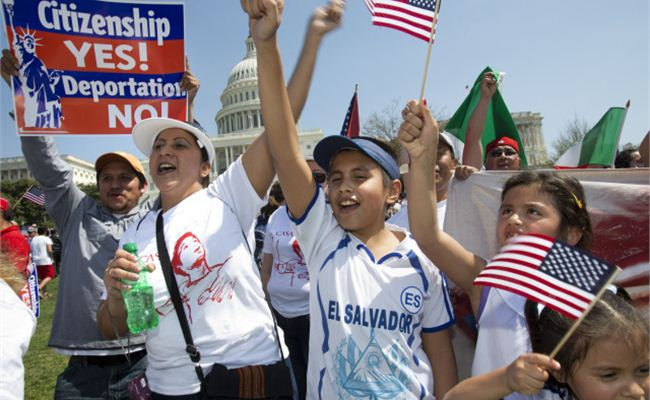"""Despite concerns, Latinos say immigration bill is """"a breakthrough moment"""""""