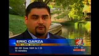 Eric Garza on NBC 4 San Antonio speaks about the effect of Obamacare